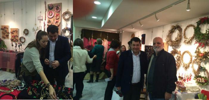 Την έκθεση δημιουργών τέχνης του Δήμου επισκέφθηκε ο Τ. Μαυρίδης