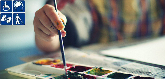 Έκθεση με δημιουργίες ατόμων με ειδικές ανάγκες στην Πεντέλη