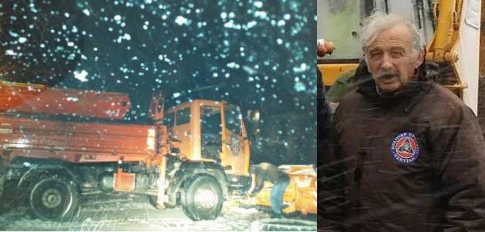 Δήμαρχος Πεντέλης: «Θα στηριχθεί η Αυτοδιοίκηση στο θέμα του χιονιά;»