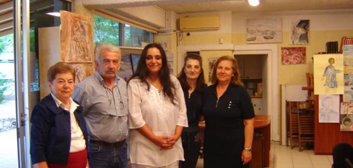 Εγκαινιάστηκε η Έκθεση Ζωγραφικής ενηλίκων Δήμου Πεντέλης