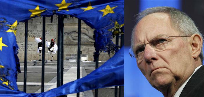 Bloomberg: Ο Β. Σόιμπλε λέει ότι η Γερμανία ετοιμάζεται για Grexit