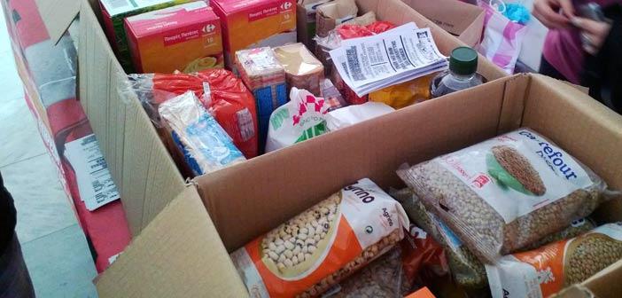 Σε όλα τα σχολεία του Δήμου συγκεντρώνουμε τρόφιμα και είδη ατομικής υγιεινής για το Κοινωνικό Παντοπωλείο