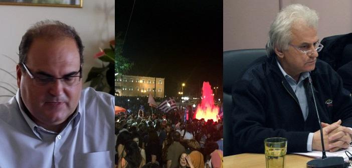 Ρούσσος & Σταθόπουλος μάλλον δεν χάρηκαν με τα αποτελέσματα στους Δήμους τους