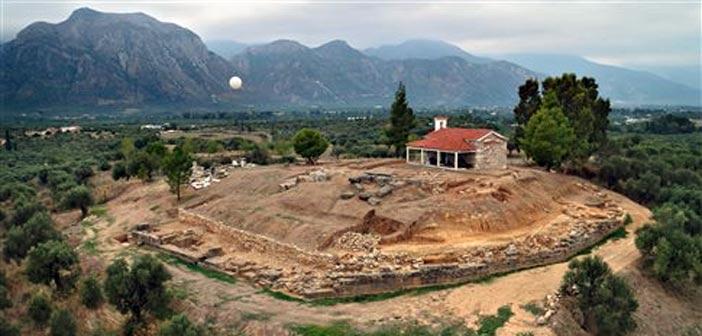 To μυκηναϊκό ανάκτορο και το Ιερό του Απόλλωνα αποκαλύφθηκαν στη Λακωνία