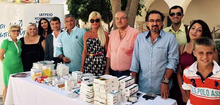 Συλλογή φαρμάκων και στην Πάρο