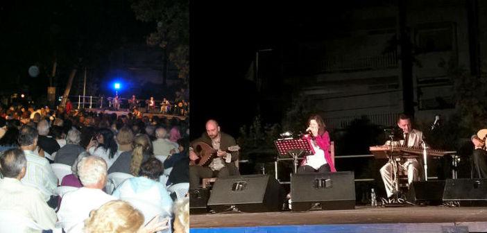 Η Στέλλα Κονιτοπούλου τραγούδησε για τις… Αλλοτινές Πατρίδες
