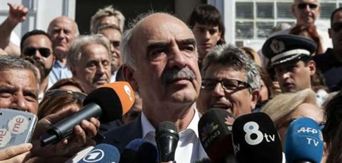 Β. Μεϊμαράκης: Συγχαρητήρια στον κ. Τσίπρα – Να σχηματίσει κυβέρνηση