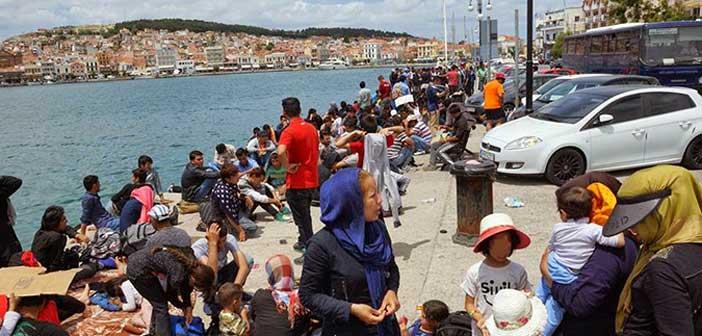 Πλημμυρισμένη στους πρόσφυγες και πάλι η Μυτιλήνη