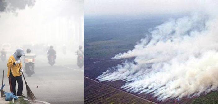 H Ινδονησία… φλέγεται, πνίγοντας στους καπνούς τη Ν/Α Ασία