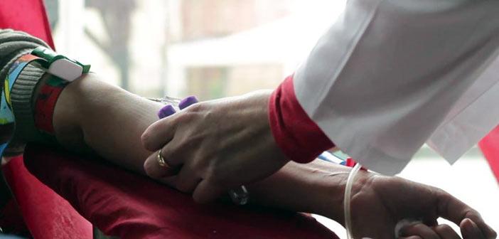 Εθελοντική αιμοδοσία στο Πάτημα Χαλανδρίου
