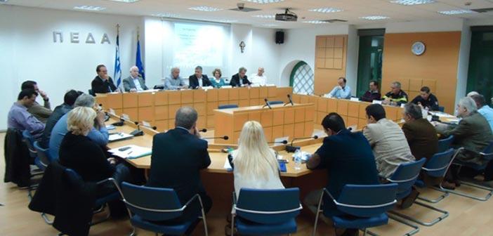 Τα συμπεράσματα συνεδρίασης της Επιτροπής Πολ. Προστασίας της ΠΕΔΑ