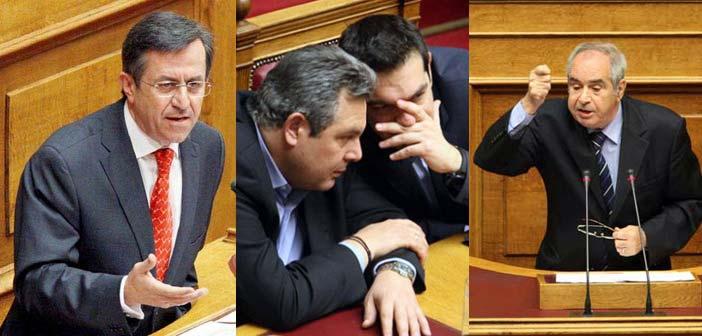 Με απώλειες για ΣΥΡΙΖΑ – ΑΝ.ΕΛ. πέρασαν τα προαπαιτούμενα από τη Βουλή