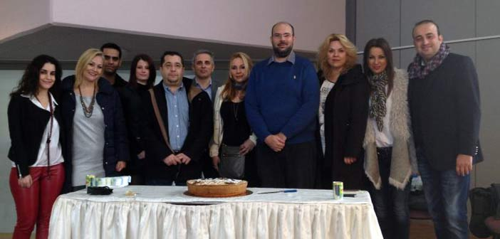Πρώτη πρωτοχρονιάτικη πίτα για την Ένωση Νέων Αυτοδιοικητικών