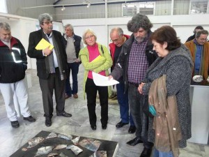 Η παράταξη Ενότητα Ανατροπή και Έργο για το Μαρούσι και πολίτες στο Κέντρο Κεραμικής Τέχνης