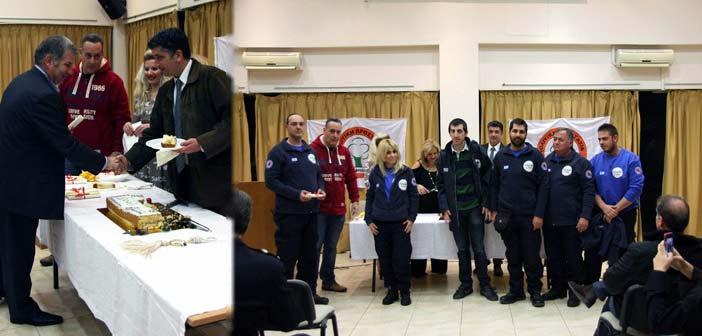 Βράβευση της Εθελοντικής Ομάδας και τουπροέδρου του ΣΠΑΠ