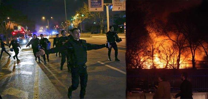 Πολύνεκρη έκρηξη έξω από το Γενικό Επιτελείο στην Άγκυρα