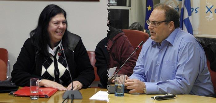 Η Λ. Καρατζά «αξιοποιεί» τα «ρήγματα» στο αριστερό μέτωπο της διοίκησης Σ. Ρούσσου