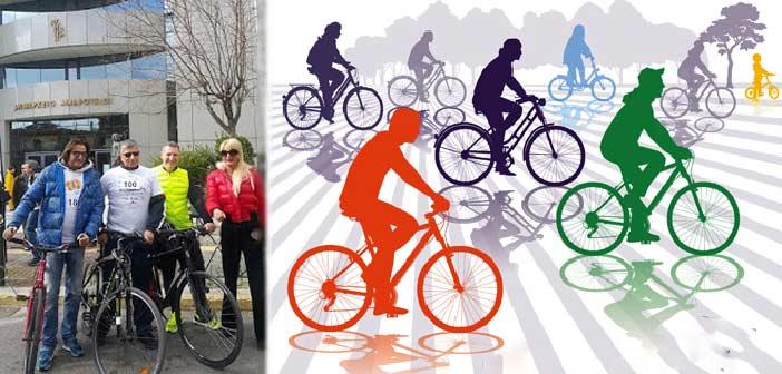 Στην ποδηλατάδα του Αμαρουσίου και ο Κ. Βλάχος