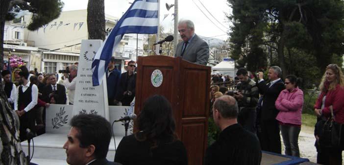 Παρουσία πλήθους κόσμου γιορτάστηκε η 25η Μαρτίου στον Δήμο Πεντέλης