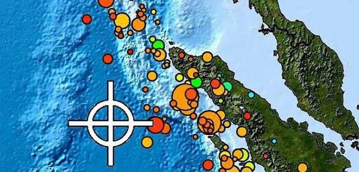 Μεγάλος σεισμός 7,8 βαθμών ανοιχτά της Ινδονησίας