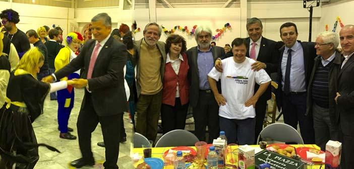 Αποκριάτικο πάρτι για τα παιδιά των Special Olympics στο Μαρούσι