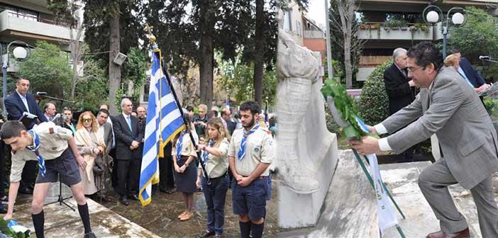 Ξεκίνησαν οι εκδηλώσεις για την επέτειο της 25ης Μαρτίου στον Δήμο Κηφισιάς