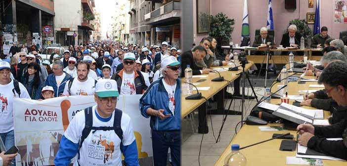 Την πορεία κατά της ανεργίας στηρίζει το Δ.Σ. Αγίας Παρασκευής