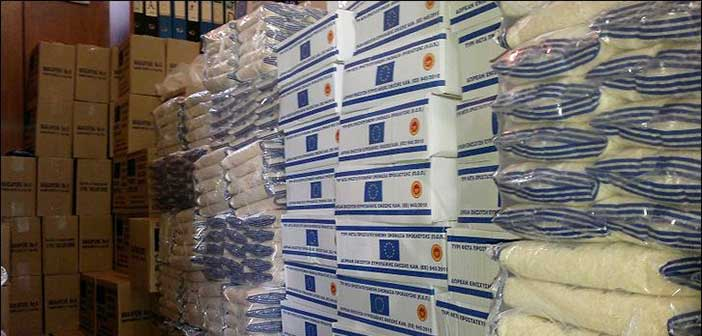 Διανομή τροφίμων στους δικαιούχους ΚΕΑ – ΤΕΒΑ Δήμου Νέας Ιωνίας