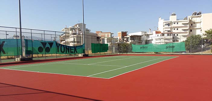 Επαναλειτουργούν τα γήπεδα τένις του Δήμου Ηρακλείου Αττικής