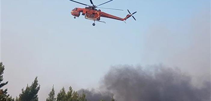 Πυρκαγιές σε δασικές εκτάσεις σε Μεσολόγγι, Καλαμπάκα και Δράμα