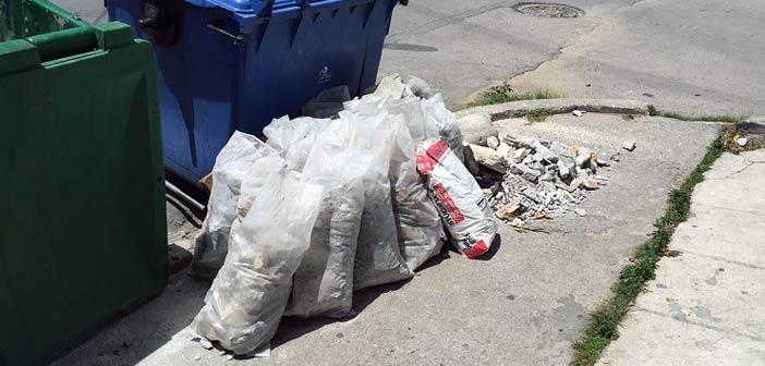 Αδυνατεί να συλλέξει τα ανακυκλώσιμα οικοδομικά υλικά ο Δήμος Ν. Ιωνίας – Τι λέει η διοίκηση