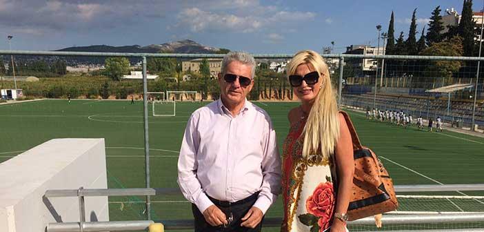 Συνάντηση Μ. Καρπέτα και Μ. Πατούλη με αθλητική ατζέντα