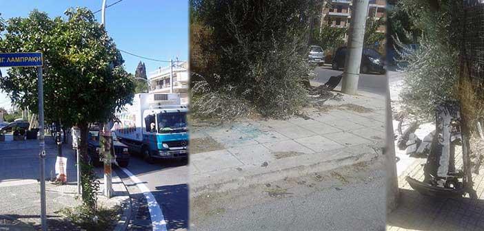 «Οι διασταυρώσεις καρμανιόλες στη Λυκόβρυση & η αδιαφορία του Δήμου»
