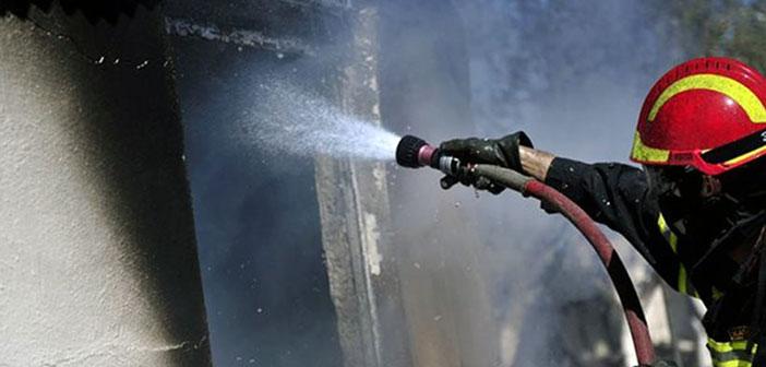 Φωτιά ξέσπασε σε υπόγειο χώρο στάθμευσης στον Δήμο Πεντέλης
