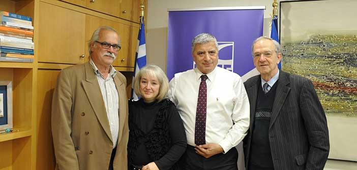 Συνάντηση προέδρου ΚΕΔΕ με μέλη της Συνομοσπονδίας Πολυτέκνων Ελλάδος
