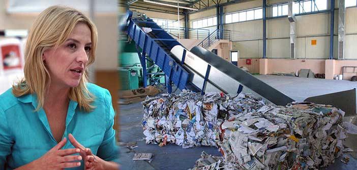 Η Ρ. Δούρου απαντά στα «πυρά» για τη διαχείριση απορριμμάτων στην Αττική