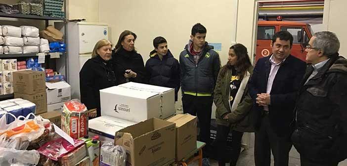 Προσφορά τροφίμων από τη Σχολή «Saint Joseph» στον Δήμο Λυκόβρυσης-Πεύκης
