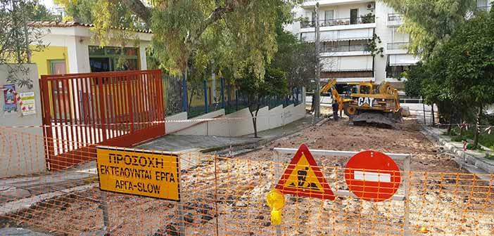 Διαμόρφωση δρόμων ήπιας κυκλοφορίας έξω από σχολεία του Ηρακλείου