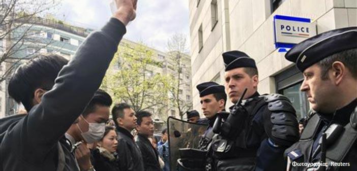 Συγκρούσεις στο Παρίσι μετά τη δολοφονία Κινέζου από αστυνομικούς