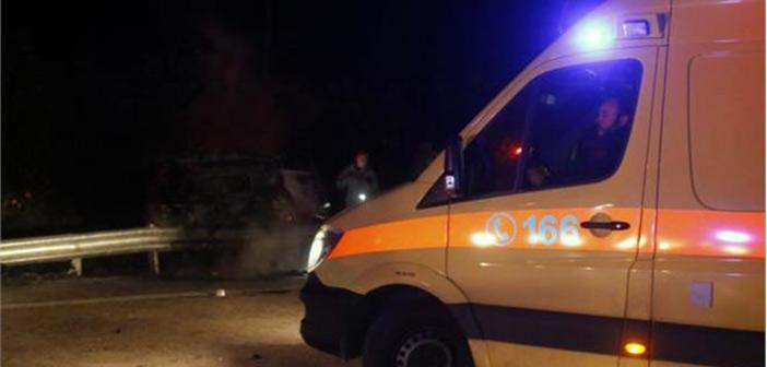 Τραγωδία στην Αιτωλοακαρνανία: Νεκροί δύο νέοι όταν το αυτοκίνητό τους έπεσε σε αρδευτικό κανάλι
