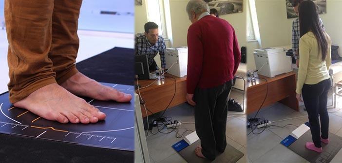 Εξέταση πελματογραφίας για καλύτερη σκελετική υγεία μελών ΚΑΠΗ Κηφισιάς