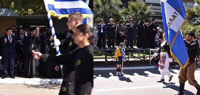 Με λαμπρότητα γιορτάστηκε η 25η Μαρτίου στις Δ.Κ. Λυκόβρυσης & Πεύκης