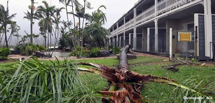 «Απόβαση» στη βορειοανατολική Αυστραλία έκανε ο κυκλώνας Debbie