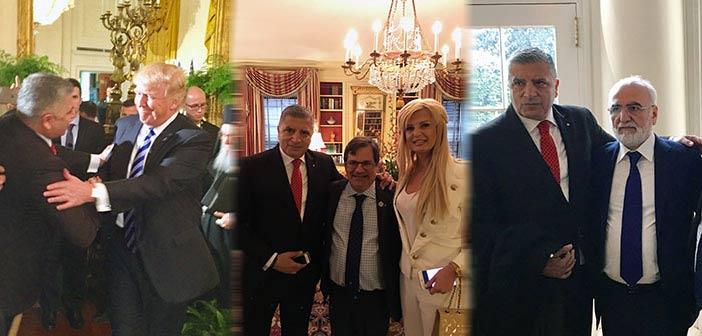 Στον Λευκό Οίκο το ζεύγος Πατούλη με αφορμή την επέτειο της 25ης Μαρτίου