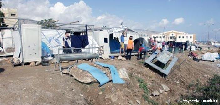 Άγριος ξυλοδαρμός πρόσφυγα στον καταυλισμό της Σούδας στη Χίο