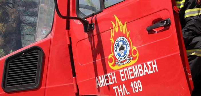 Πυρκαγιά ξέσπασε σε όχημα στην οδό Περσέως στο Ψυχικό
