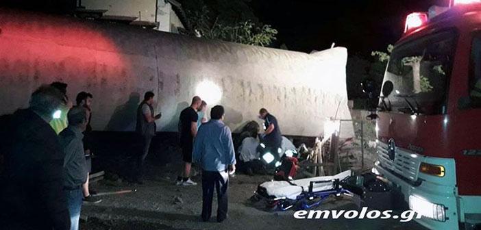 Εκτροχιασμός τρένου έξω από την Θεσσαλονίκη, υπάρχουν τραυματίες