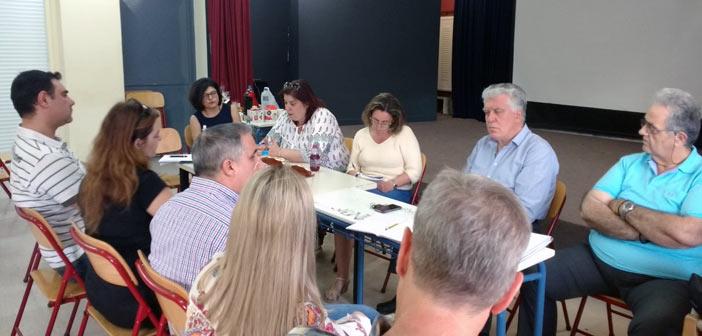 Συνάντηση με την Ένωση Συλλόγων Γονέων είχε η παράταξη του Β. Ζορμπά