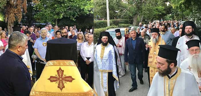 Το Γενέθλιο του Αγίου Ιωάννη Προδρόμου γιόρτασε πλήθος πιστών στο Μαρούσι