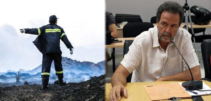 Α. Γκιζιώτης: 7 λόγοι που θέτουν σε κίνδυνο την πυρασφάλεια σε Υμηττό & Αγ. Παρασκευή